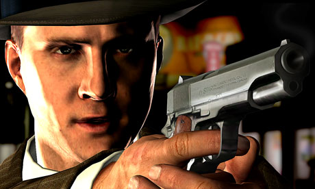 All the actors' performances in L.A. Noire were performance captured, including Aaron Staton as Cole Phelps.